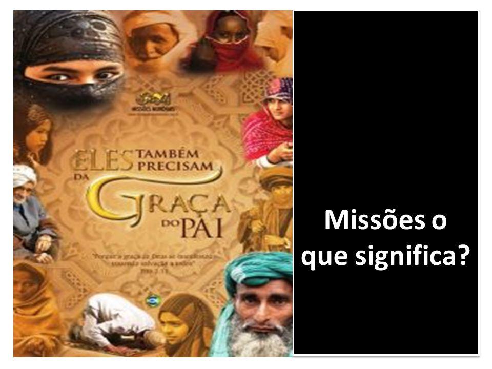 O envio do missionário Capacitação prévia do missionário.