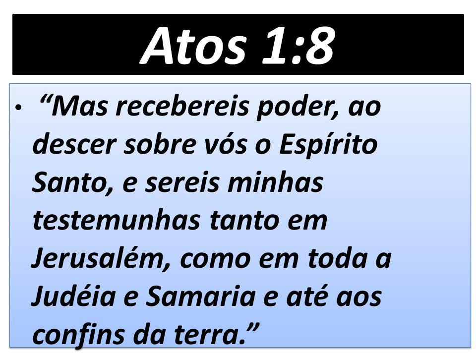 Tem havido um avanço na realização missionária nas igrejas do Brasil: visão local para o visão mundial – modelo de Atos 1:8.