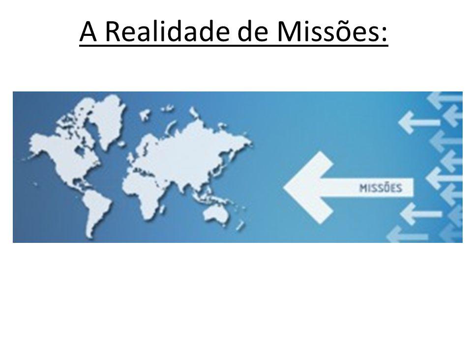 O que é ser Procurador de missões...