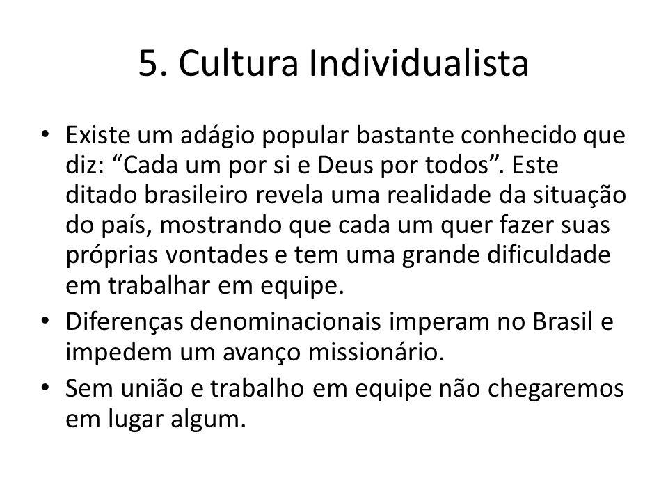 """Existe um adágio popular bastante conhecido que diz: """"Cada um por si e Deus por todos"""". Este ditado brasileiro revela uma realidade da situação do paí"""