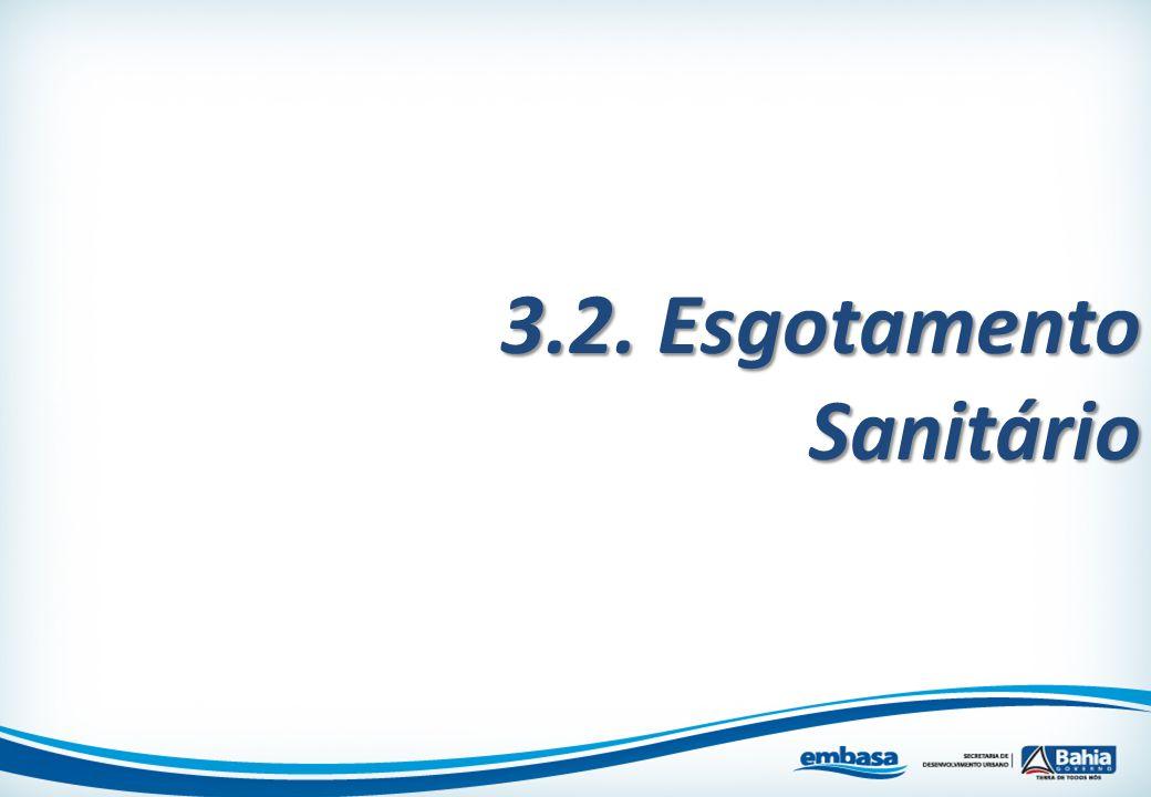 3.2. Esgotamento Sanitário
