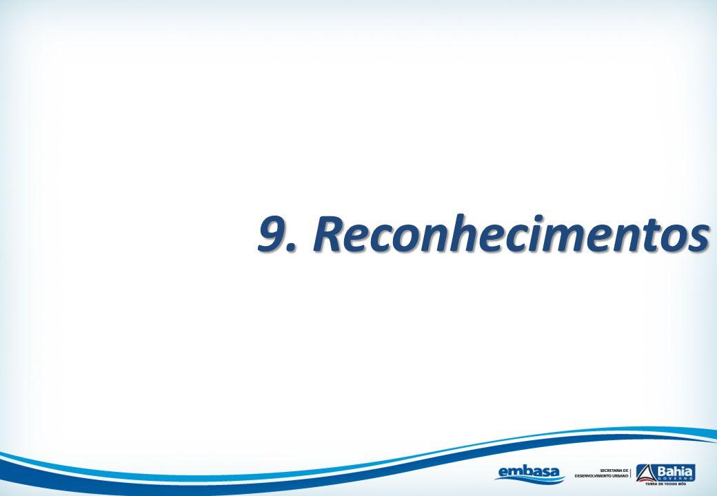 9. Reconhecimentos