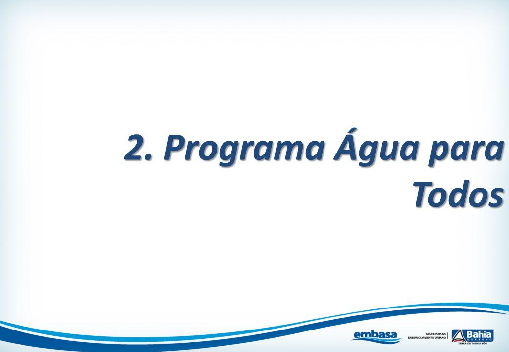 2. Programa Água para Todos