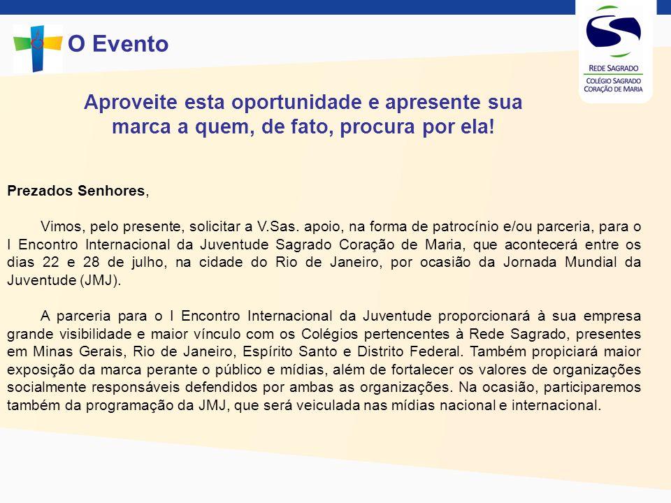 Jovens de diferentes nacionalidades se preparam para a Jornada Mundial da Juventude O Evento O Instituto das Religiosas do Sagrado Coração de Maria (IRSCM) já está se preparando para a JMJ, que acontecerá no Rio de Janeiro entre os dias 22 e 28 de julho.