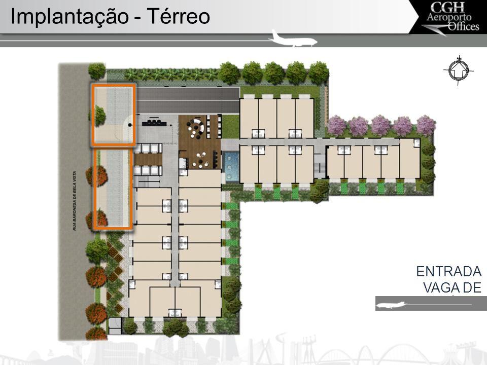 ENTRADA VAGA DE UTILITÁRIO