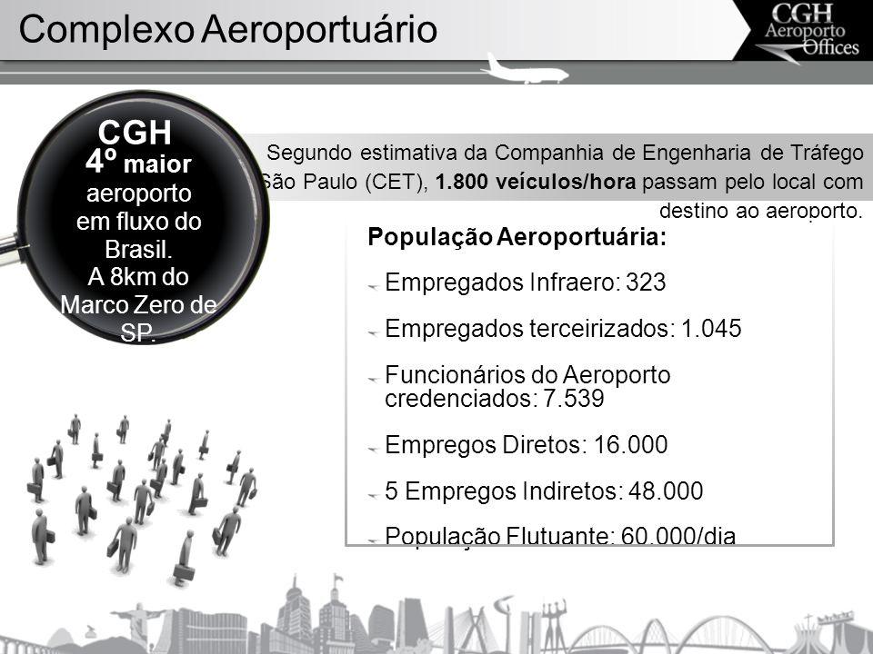 Segundo estimativa da Companhia de Engenharia de Tráfego de São Paulo (CET), 1.800 veículos/hora passam pelo local com destino ao aeroporto.
