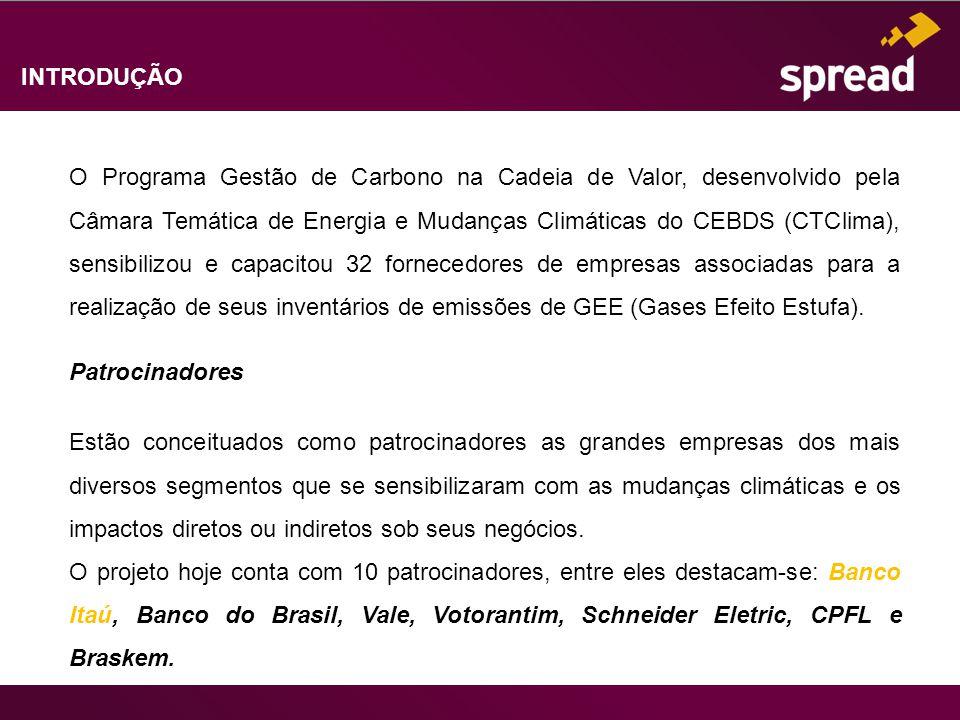 INTRODUÇÃO O Programa Gestão de Carbono na Cadeia de Valor, desenvolvido pela Câmara Temática de Energia e Mudanças Climáticas do CEBDS (CTClima), sen