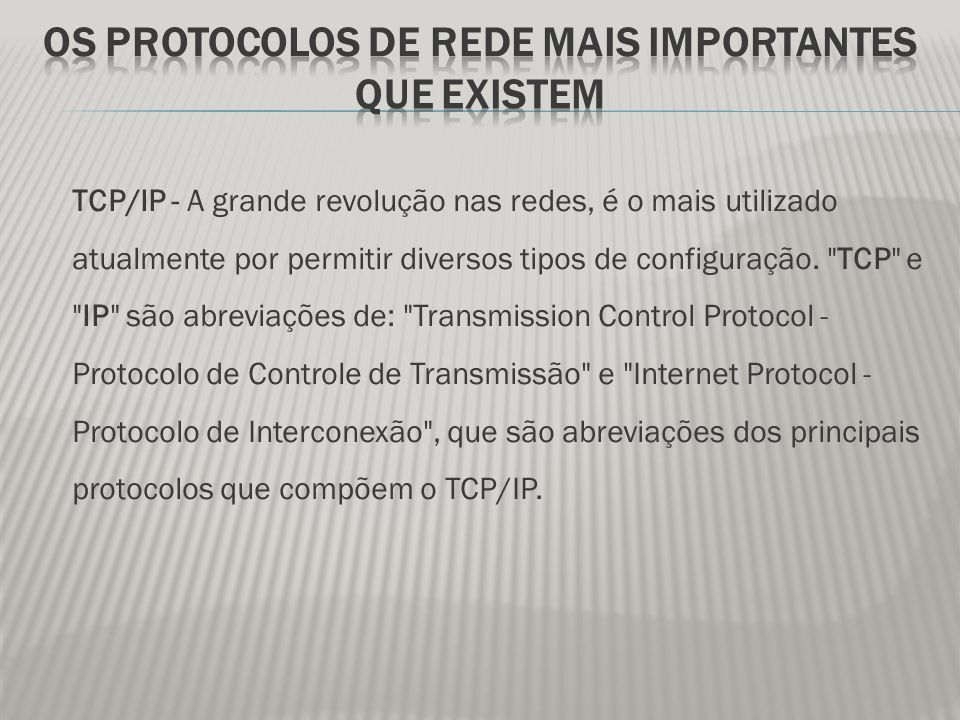 HTTP - Hypertext Transfer Protocol, que significa Protocolo de Transferência de Hipertexto .