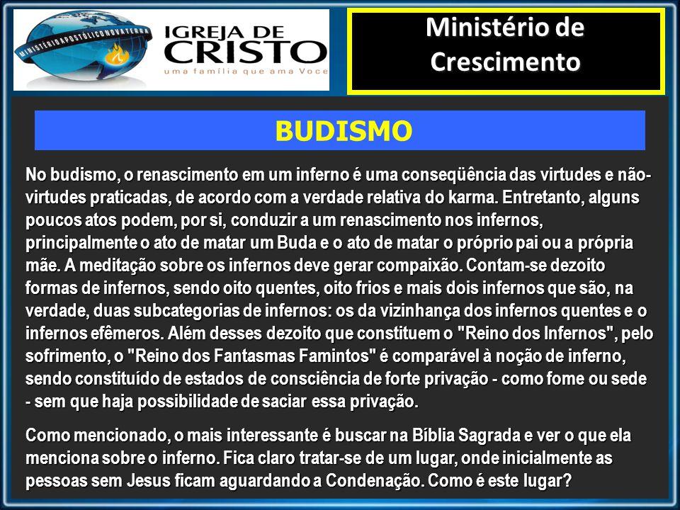 Diretoria de Adm-Financeira - DIRAD Segundo a Bíblia, o que é o Ministério de Crescimento INFERNO
