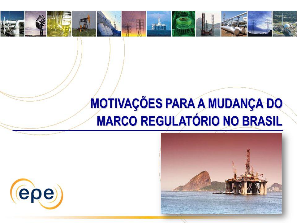 MOTIVAÇÕES PARA A MUDANÇA DO MOTIVAÇÕES PARA A MUDANÇA DO MARCO REGULATÓRIO NO BRASIL