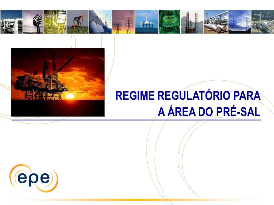 REGIME REGULATÓRIO PARA A ÁREA DO PRÉ-SAL