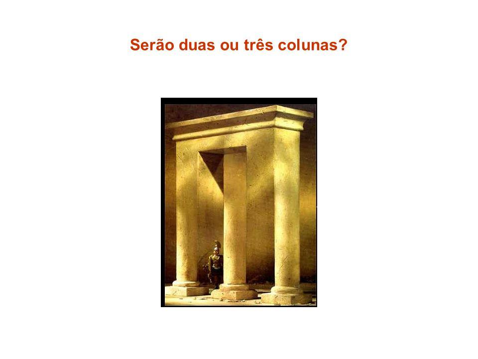 Serão duas ou três colunas?