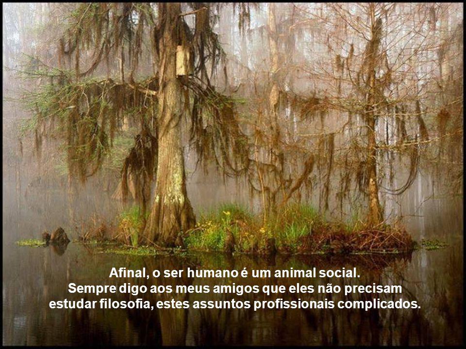 Afinal, o ser humano é um animal social.