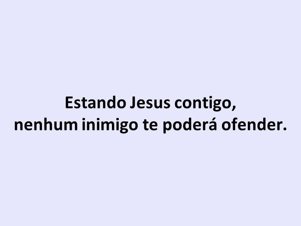 estar com Jesus é doce Paraíso.