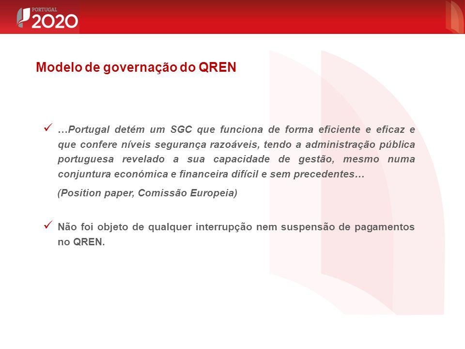 …Portugal detém um SGC que funciona de forma eficiente e eficaz e que confere níveis segurança razoáveis, tendo a administração pública portuguesa rev