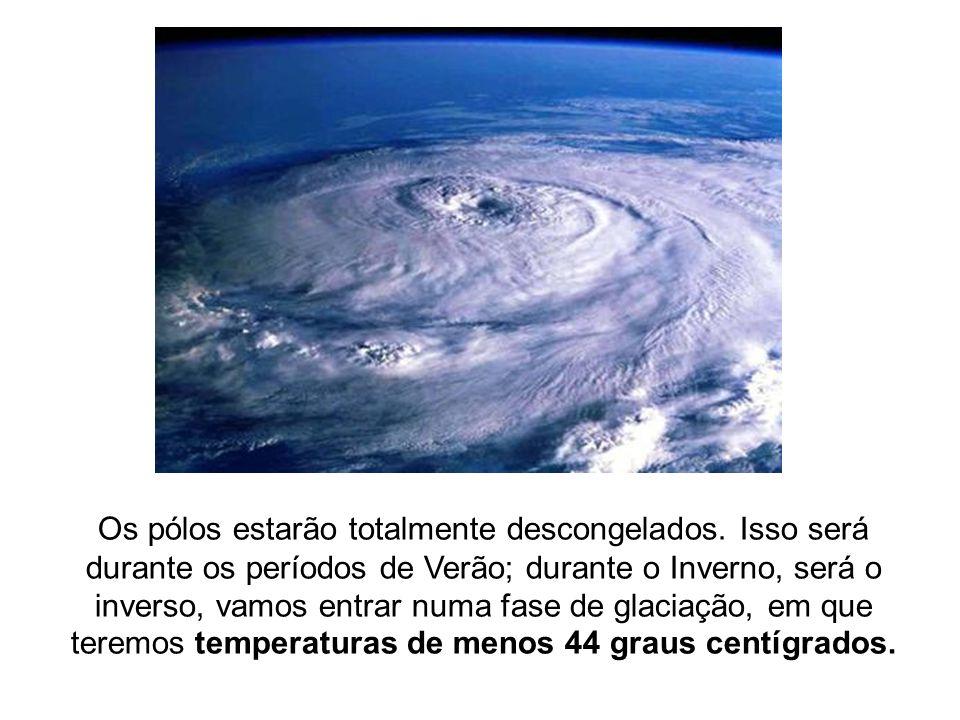 2ª FASE (2030 a 2054) Nesta fase se inicia o verdadeiro aquecimento.