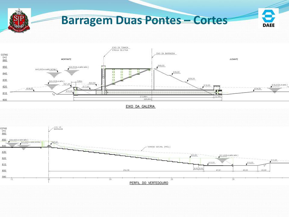 Barragem Duas Pontes – Cortes