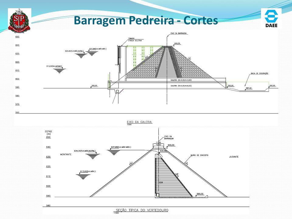 Barragem Pedreira - Cortes