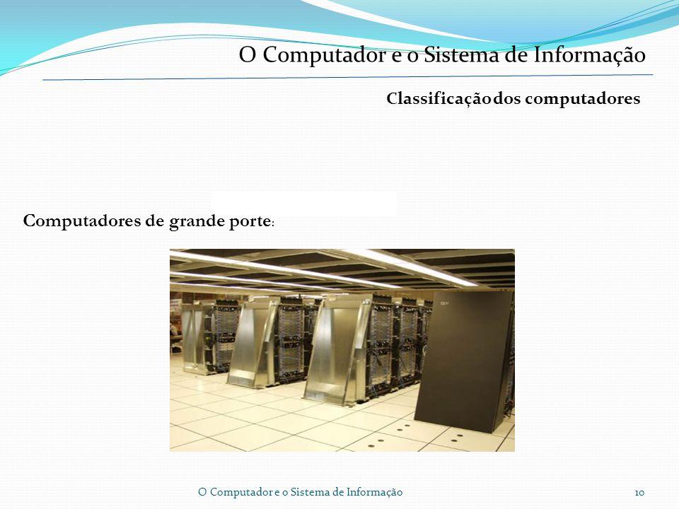 O Computador Segurança da informação A segurança da informação, refere-se à protecção existente sobre as informações de uma determinada empresa ou pes