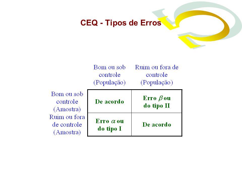 CEQ - Tipos de Erros