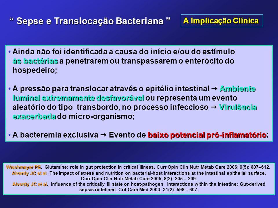 Ainda não foi identificada a causa do início e/ou do estímulo às bactérias às bactérias a penetrarem ou transpassarem o enterócito do hospedeiro; Ambi
