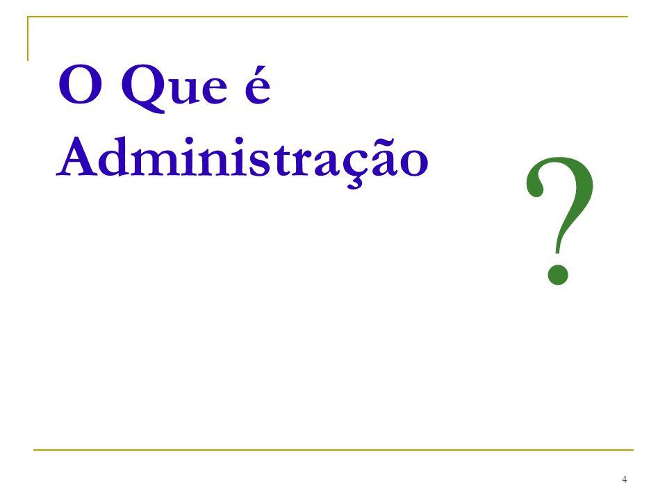 CEUT 4 O Que é Administração ?