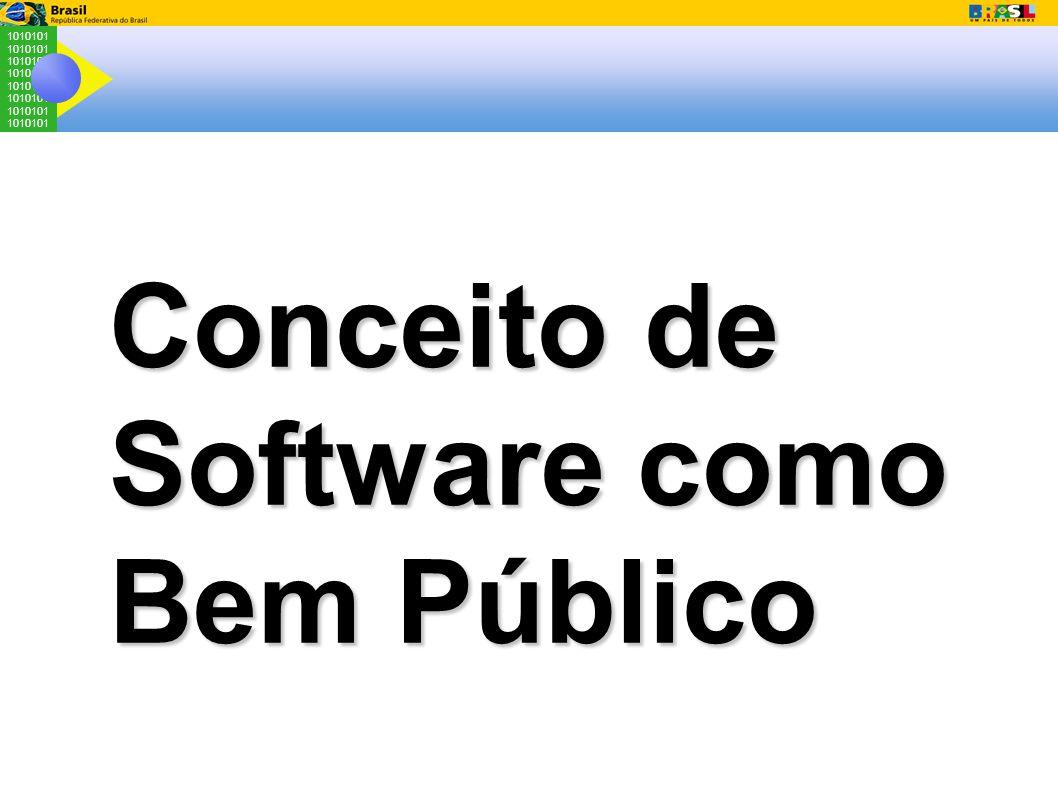 1010101 Conceito de Software como Bem Público