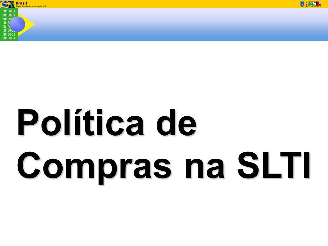 1010101 Política de Compras na SLTI