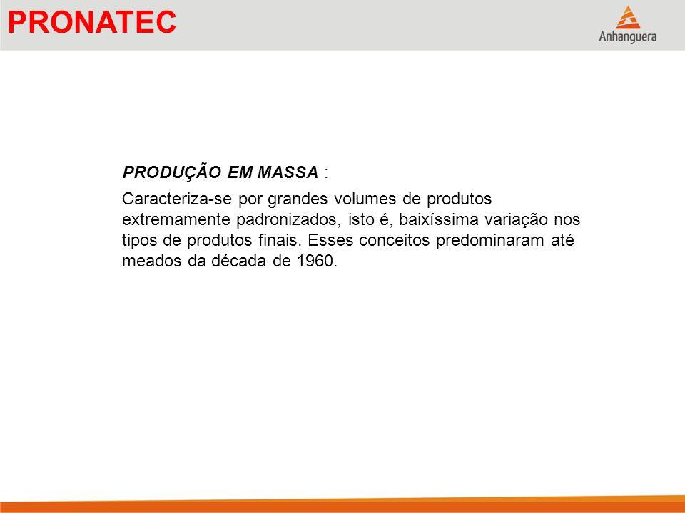 OBJETIVOS DA ADMINISTRAÇÃO DA PRODUÇÃO/OPERAÇÕES A fábrica do futuro Projeto dos produtos e dos processos Aplicação de engenharia simultânea em larga escala.