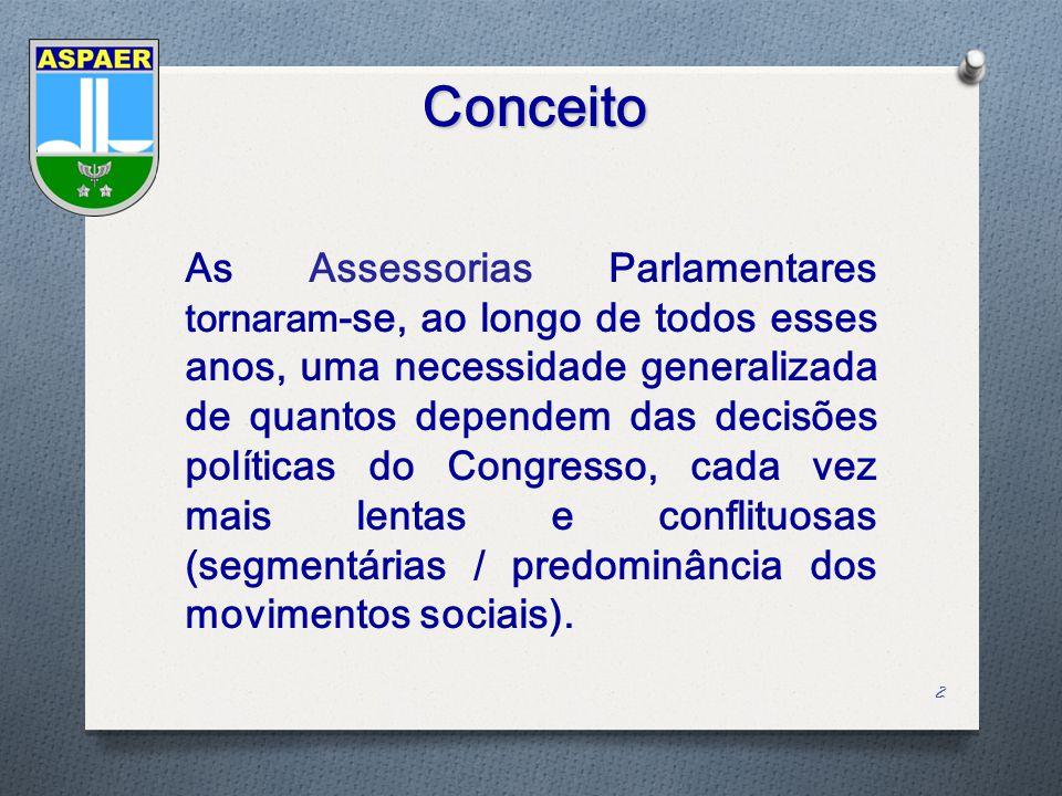 Roteiro 1.Histórico 2.Estrutura 3.Missão 4.Conceito de Assessoria 5.Atuação no Congresso Nacional 6.Ações Estratégicas 7.Visão das Proposições Acompanhadas 8.Atuação no Processo Orçamentário 9.Relacionamento com o Judiciário e Executivo 43