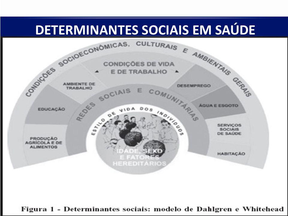 DETERMINANTES SOCIAIS EM SAÚDE