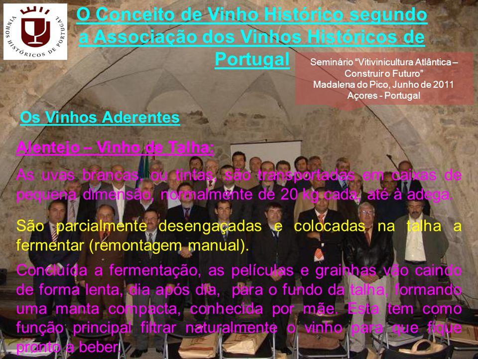 O Conceito de Vinho Histórico segundo a Associação dos Vinhos Históricos de Portugal Normalmente é consumido enquanto jovem, até ao Natal do ano de colheita.