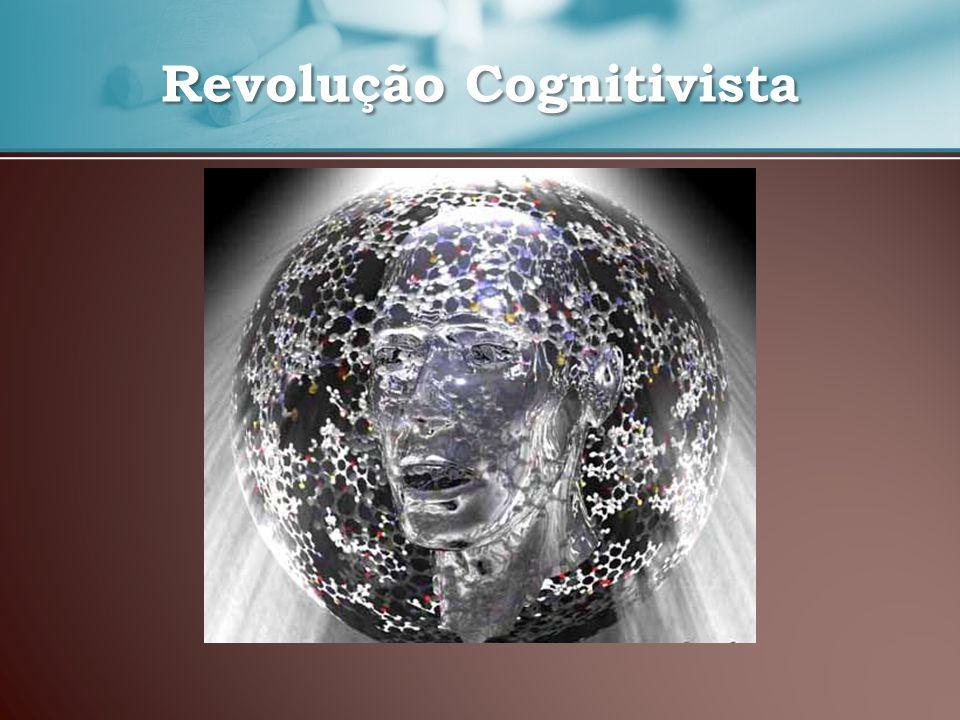 Assiste-se a um regresso à mente devido ao reconhecimento dos limites do Comportamentalismo Comparação entre a Mente e o computador: A mente trata a informação armazenada que foi recolhida do meio ambiente; Cérebro = hardware; Processos mentais = software.