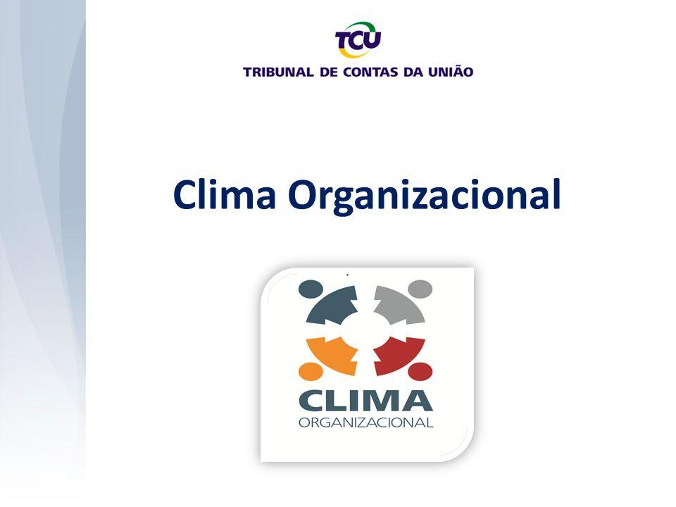 Clima Organizacional Pesquisa de Clima Instrumento para aferição do Clima Organizacional.