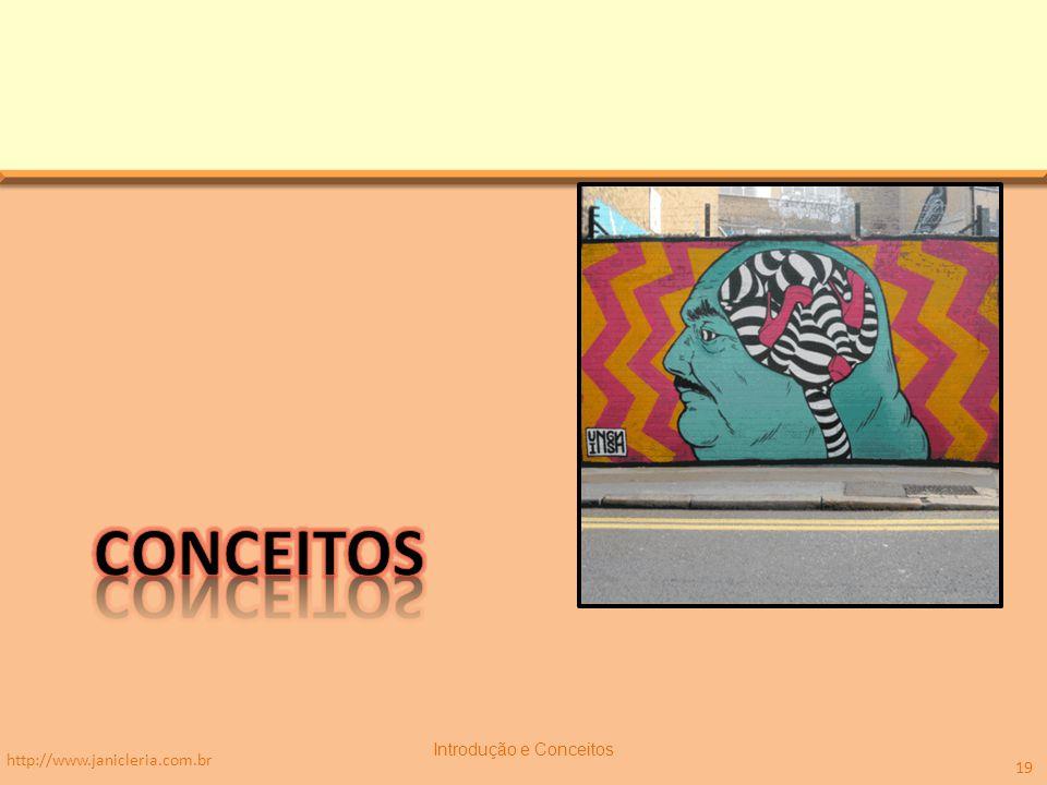 http://www.janicleria.com.br Introdução e Conceitos 19