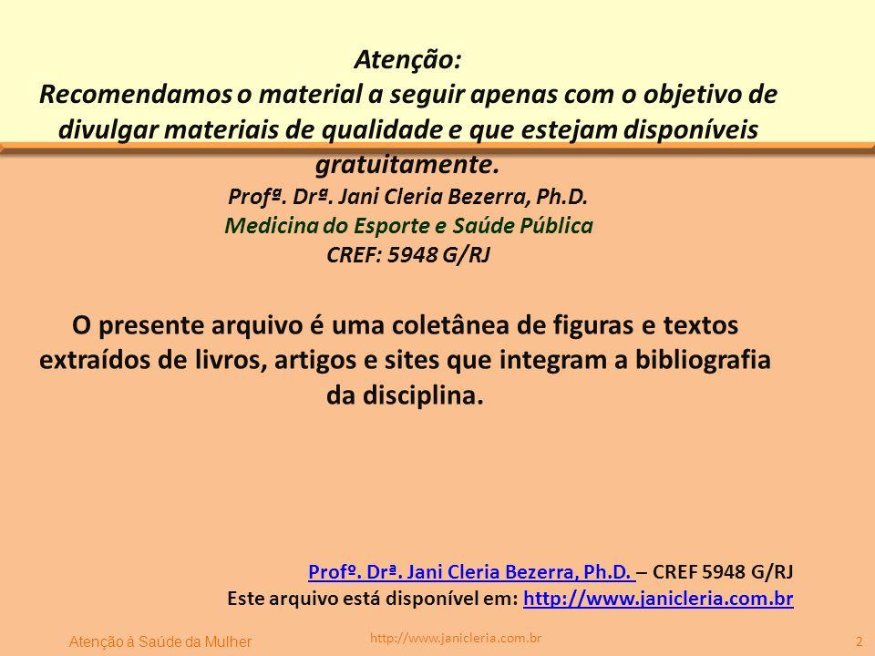 3 http://www.janicleria.com.br Introdução e Conceitos
