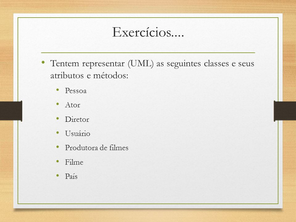 Herança Uma classe pode ser derivada de uma outra classe, herdando seus atributos e métodos.
