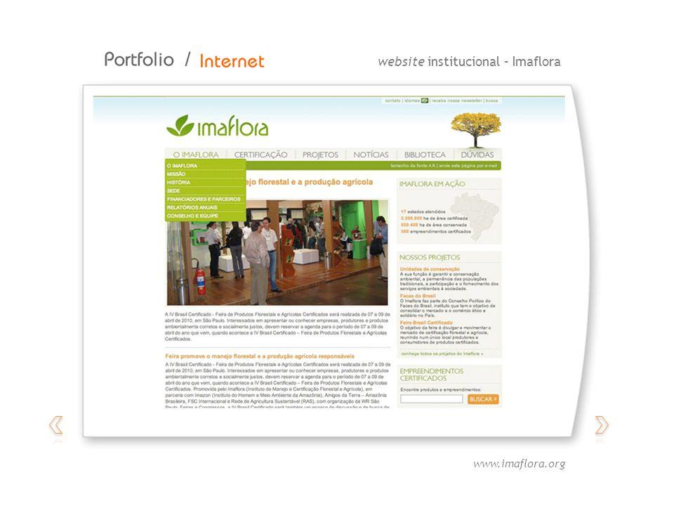 website institucional – Imaflora www.imaflora.org
