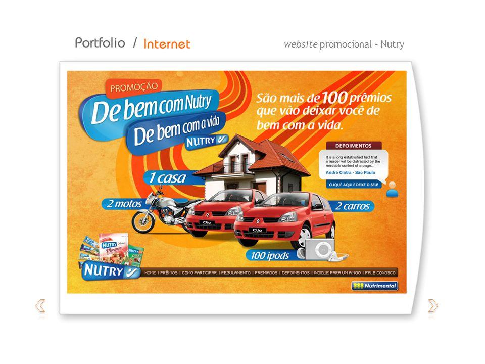 website promocional – Nutry
