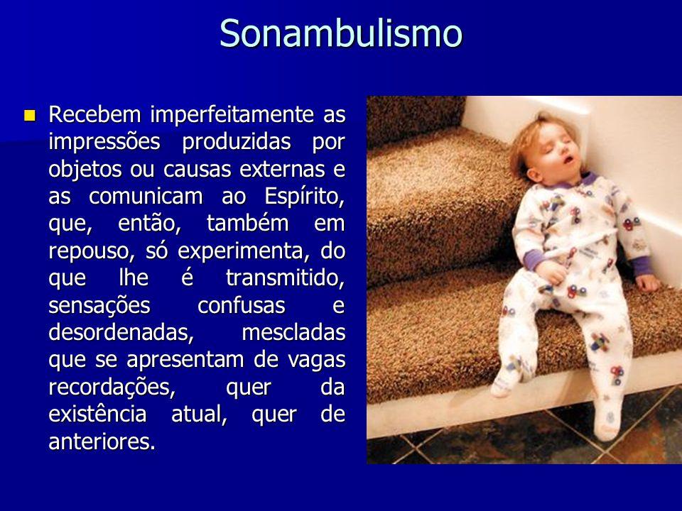 O sonambulismo natural tem alguma relação com os sonhos.