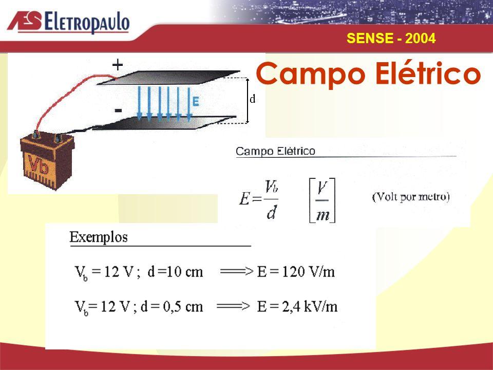 SENSE - 2004 Campo Elétrico