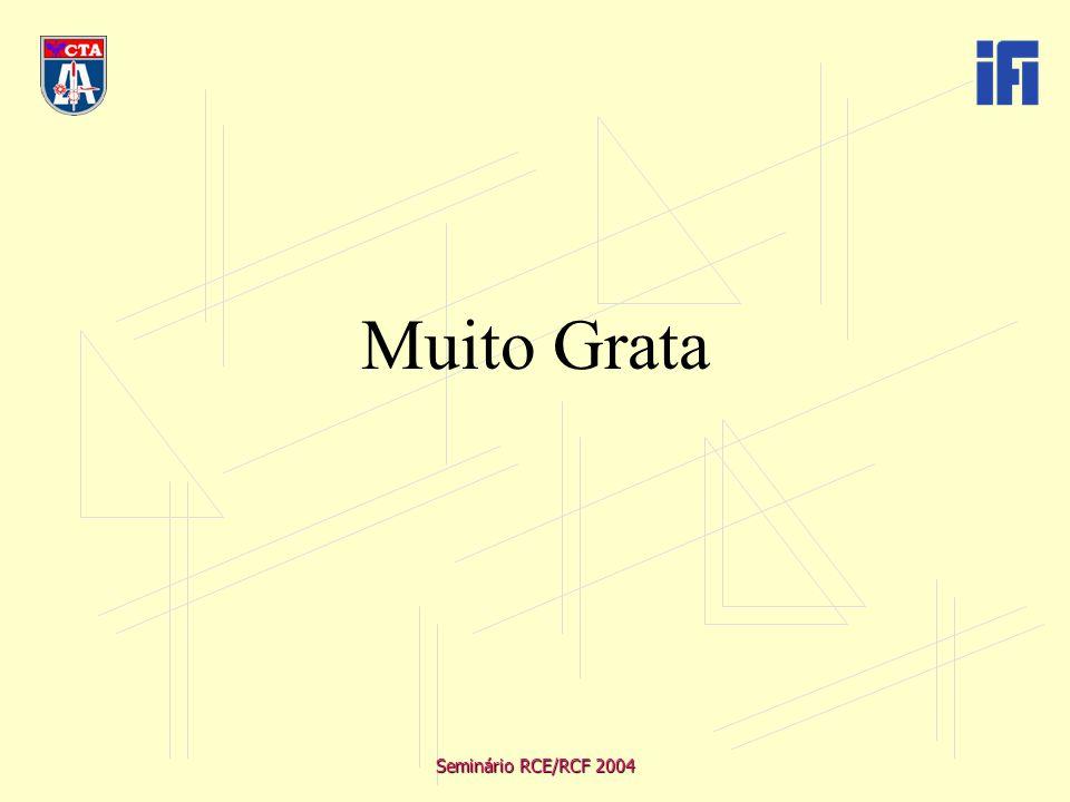 Seminário RCE/RCF 2004 Muito Grata
