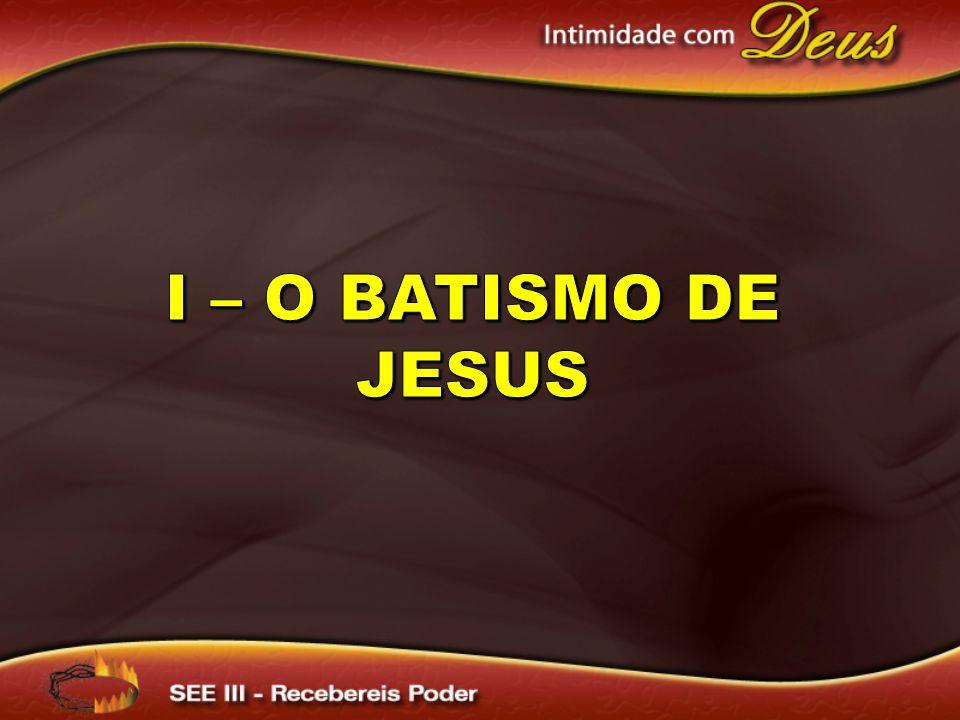 Paulo une o batismo n´água com a cruz (justificação), em Romanos 6:3 em diante e I Cor.