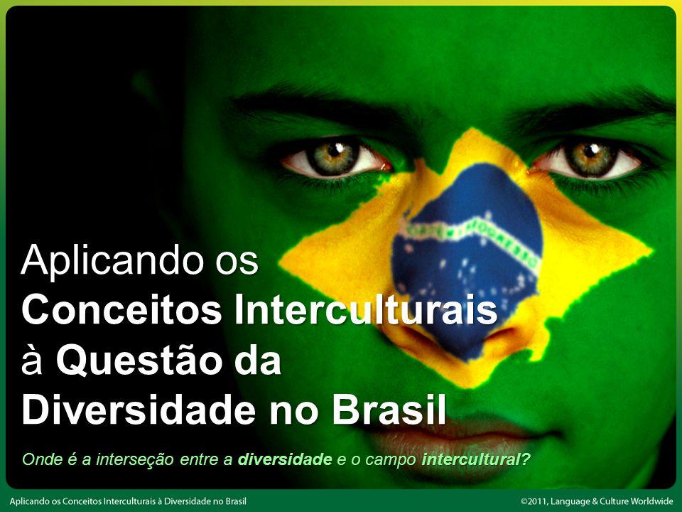 Onde é a interseção entre a diversidade e o campo intercultural.