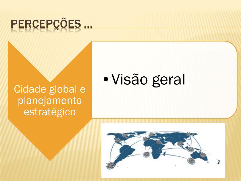 Cidade global e planejamento estratégico Visão geral