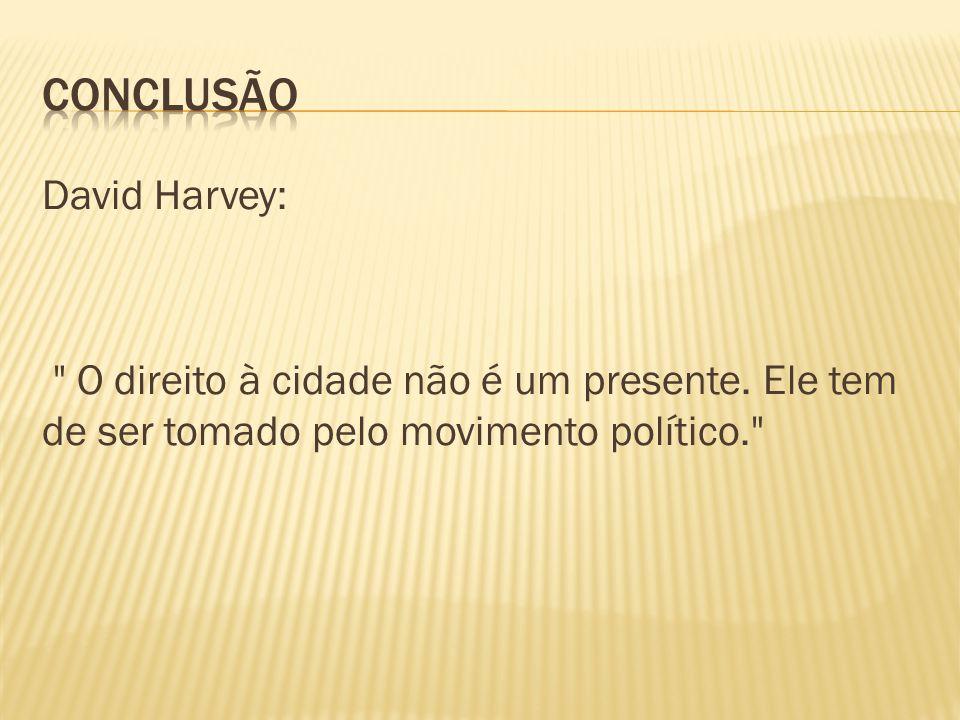 David Harvey: