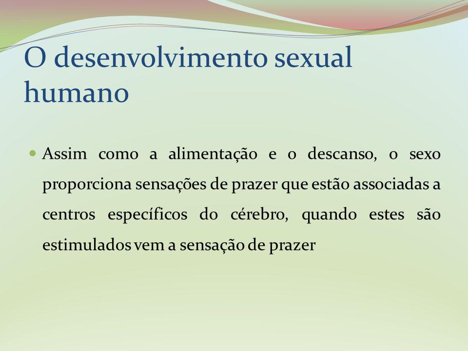 O estímulo sexual é diversificado: vai desde o toque até a troca de olhares ou a imaginação erótica.