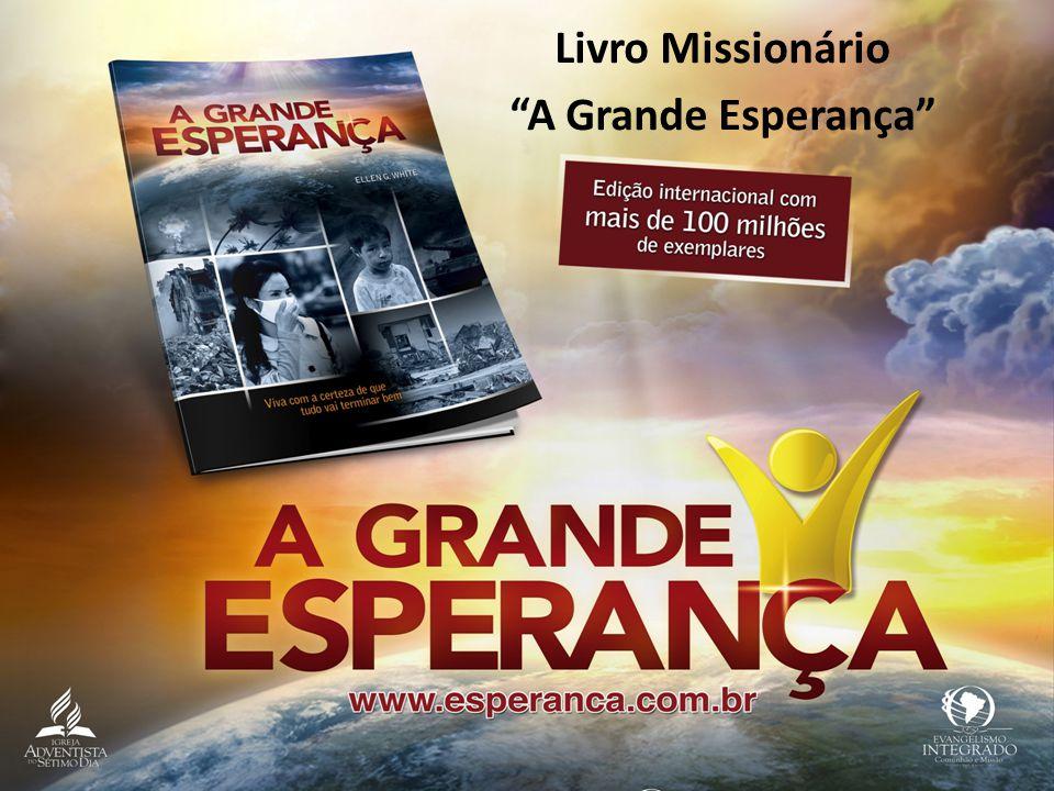 """Livro Missionário """"A Grande Esperança"""""""