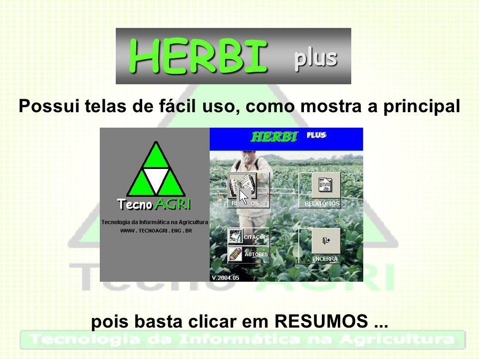 para acessar a ficha completa da citação de interesse:HERBIplus