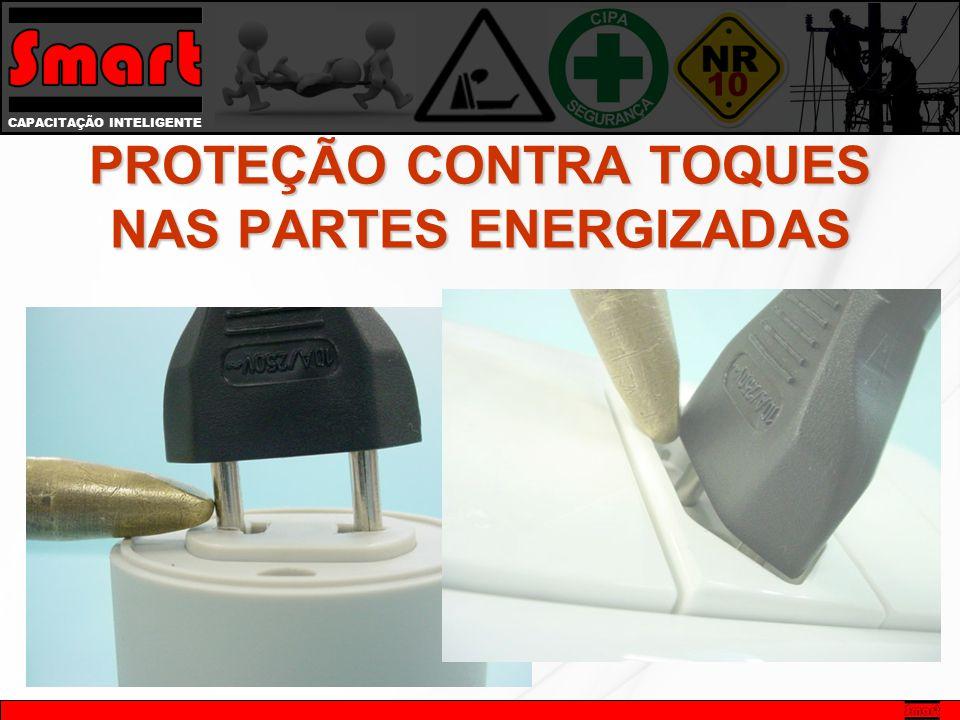 CAPACITAÇÃO INTELIGENTE PROTEÇÃO CONTRA TOQUES NAS PARTES ENERGIZADAS
